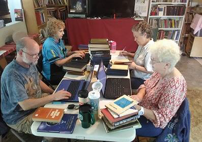 From left: Alec Grae, Judith Snow, Donna Lobdell and Ann Willig