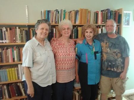 From left: Donna Lobdell, Ann Willig, Judith Snow and Alec Grae